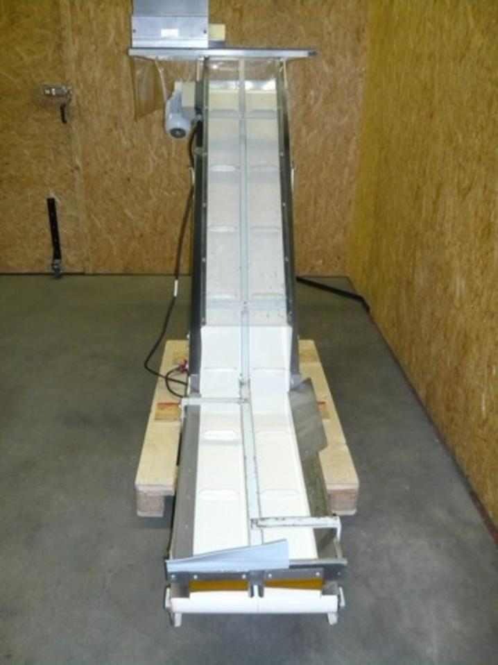 Albis / Weidemann TWDM 8+15/40 Angled Belt Conveyor