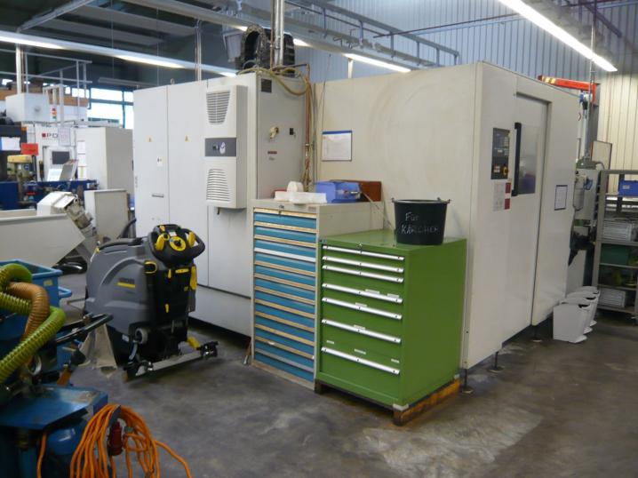 STAMA MC 531 single CNC- Fräsmaschine