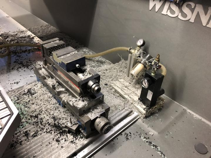 Wissner WiTec 6020 Performance plano milling machine cnc